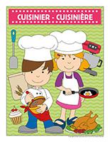 Affiche-cuisinier-cuisinère