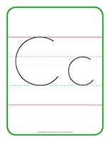 Affiche-lettre Cc