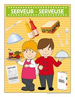 Affiche-serveur-serveuse