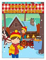 Affiche sortie à la cabane à sucre 2021