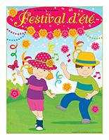 Affiche thématique-Festival d'été