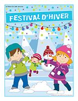 Affiche thématique-Festival d'hiver