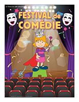 Affiche thématique-Festival de comédie
