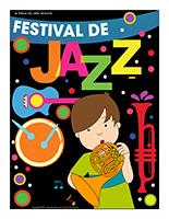 Affiche thématique-Festival de jazz
