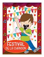 Affiche thématique-Festival de la chanson