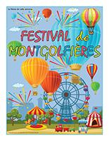 Affiche thématique-Festival de montgolfières