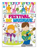 Affiche thématique-Festival de musique