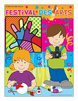 Affiche thématique-Festival des arts