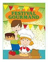 Affiche thématique-Festival gourmand