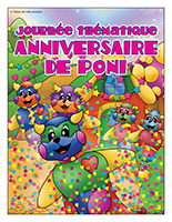 Affiche thématique-Journée thématique-Anniversaire de Poni