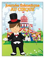 Affiche thématique-Journée thématique-Au cirque