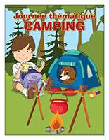 Affiche thématique-Journée thématique-Camping