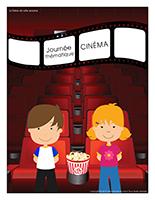 Affiche thématique-Journée thématique-Cinéma