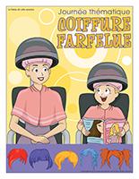 Affiche thématique-Journée thématique-Coiffure farfelue