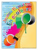 Affiche thématique-Journée thématique-En couleurs