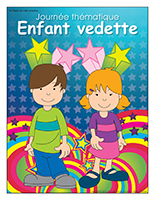 Affiche thématique-Journée thématique-Enfant vedette