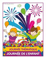 Affiche thématique-Journée thématique-Journée de l'enfant
