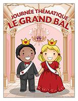 Affiche thématique-Journée thématique-Le grand bal
