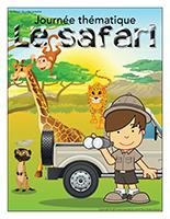 Affiche thématique-Journée thématique-Le safari