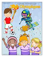Affiche thématique-Journée thématique-Les Olympiques