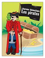 Affiche thématique-Journée thématique-Les pirates
