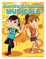 Affiche thématique-Journée thématique-Musicale