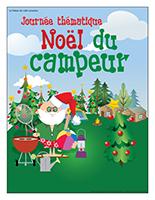 Affiche thématique-Journée thématique-Noël du campeur