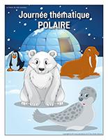 Affiche thématique-Journée thématique-Polaire