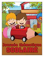 Affiche thématique-Journée thématique-Scolaire