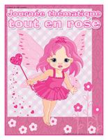 Affiche thématique-Journée thématique-Tout en rose