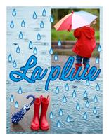Affiche thématique poupon - La pluie