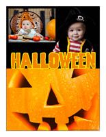Affiche thématique poupon-Halloween