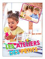 Affiche thematique poupon-Les ateliers des petits