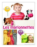 Affiche thématique poupon-Les marionnettes