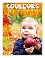 Affiche thématique poupons-Couleurs d'automne