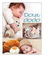 Affiche thématique poupons-Doux dodo