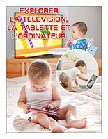 Affiche thematique-poupons-Explorer la télévision, la tablette et l'ordinateur