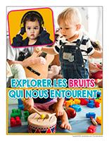 Affiche thematique-poupons-Explorer les bruits qui nous entourent