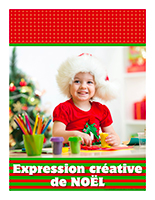 Affiche-thematique-poupons-Expression creative de Noel