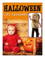 Affiche thématique poupons-Halloween Les costumes
