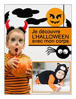 Affiche thématique poupons-Je découvre l'Halloween avec mon corps