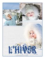 Affiche thématique poupons L'hiver