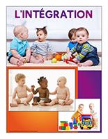 Affiche thématique poupons-L'intégration