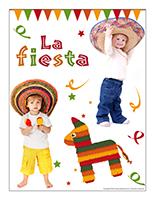 Affiche thématique poupons-La fiesta