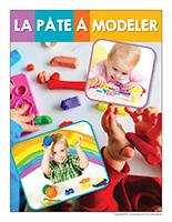 Affiche thematique poupons-La pate a modeler