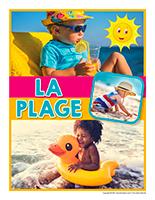 Affiche thématique poupons-La plage-2021