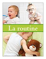 Affiche thématique-poupons-La routine