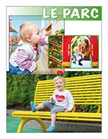 Affiche thématique poupons-Le parc