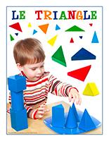 Affiche-thématique poupons-Le triangle