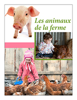 Affiche thématique poupons-Les animaux de la ferme